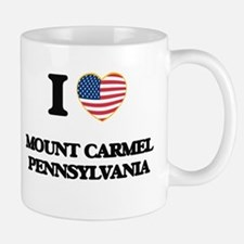 I love Mount Carmel Pennsylvania Mugs