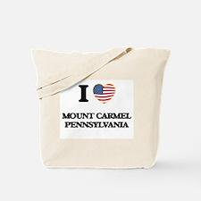 I love Mount Carmel Pennsylvania Tote Bag