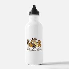 OCD Obsessive Canine D Water Bottle