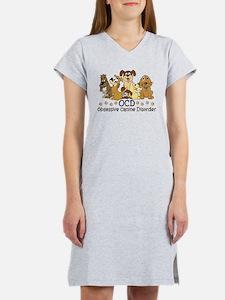 OCD Obsessive Canine Disorder Women's Nightshirt