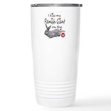 Kiss My Flemish - light Travel Mug