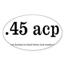 Cute 45 acp Decal