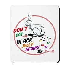 Black Jelly Beans Mousepad