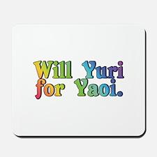 Yuri4yaoi Mousepad