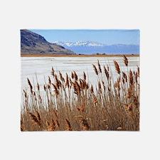 Great Salt Lake Utah Throw Blanket
