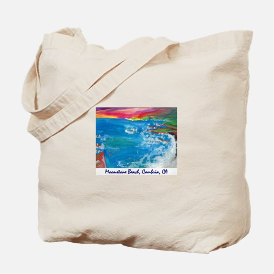 Moonstone Beach, Cambria CA Tote Bag