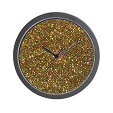 Cute Holographic Wall Clock