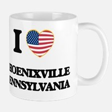I love Phoenixville Pennsylvania Mug
