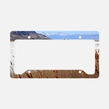 Great Salt Lake Utah License Plate Holder