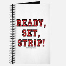 Ready, Set, Strip! Journal