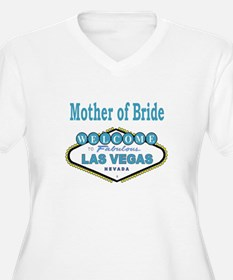 Mother of Bride Women's Plus Size V-Neck Tee