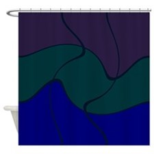 Canton Blue Shower Curtain