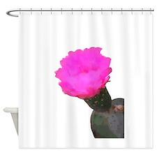 Unique Cactus flower Shower Curtain