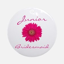 Junior Bridesmaid Ornament (Round)