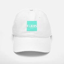 Paris Audrey Hepburn Mint Green Baseball Baseball Baseball Cap