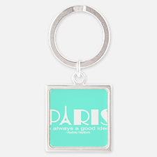 Paris Audrey Hepburn Mint Green Keychains