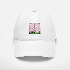 Vintage Pink Paris Baseball Baseball Baseball Cap