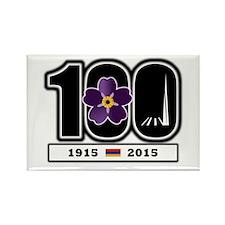 Armenian Centennial Rectangle Magnet Magnets