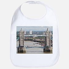Tower Bridge over River Thames, London, Englan Bib