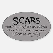 Scars Sticker (Oval)