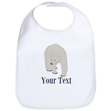 Personalizable Polar Bear Bib