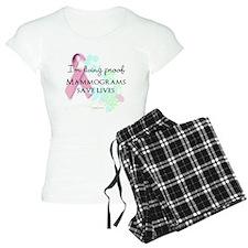 Proof Mammograms Save Lives! Pajamas