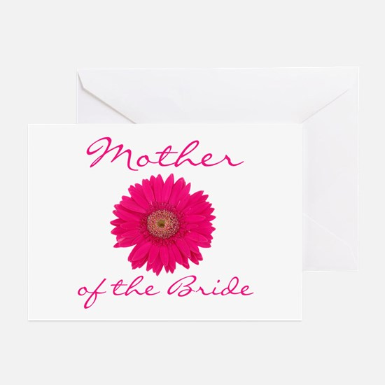 Fuchsia Mother of the Bride Greeting Cards (Pk of