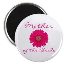 Fuchsia Mother of the Bride Magnet