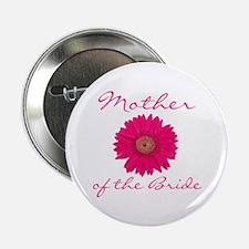 Fuchsia Mother of the Bride Button
