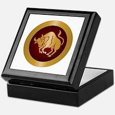 Taurus Gold Keepsake Box