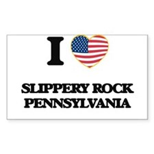 I love Slippery Rock Pennsylvania Decal