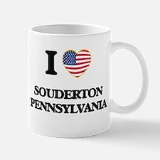 I love Souderton Pennsylvania Mugs