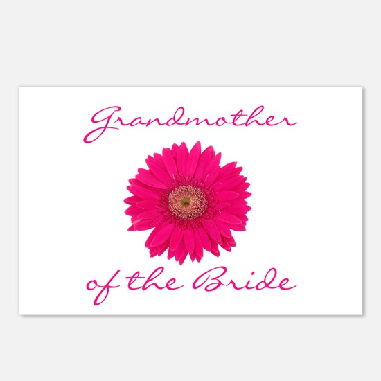 Bride's Grandmother Postcards (Package of 8)