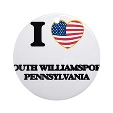 I love South Williamsport Pennsyl Ornament (Round)