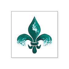 Tulane Fleur-De-Lis Sticker