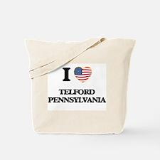 I love Telford Pennsylvania Tote Bag