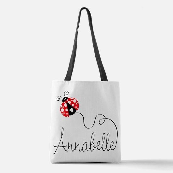 Ladybug Annabelle Polyester Tote Bag