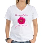 Daughter of the Bride Women's V-Neck T-Shirt