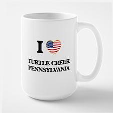 I love Turtle Creek Pennsylvania Mugs