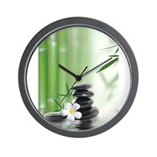 Cute Water stone Wall Clock