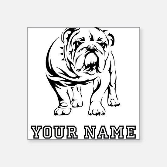Bulldog (Custom) Sticker