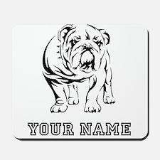 Bulldog (Custom) Mousepad