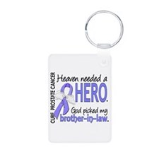 Prostate Cancer HeavenNeed Keychains