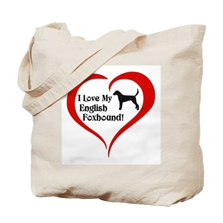 English Foxhound Tote Bag