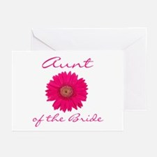 Bride's Aunt Greeting Cards (Pk of 10)