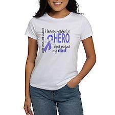 Prostate Cancer HeavenNeededHero1 Tee