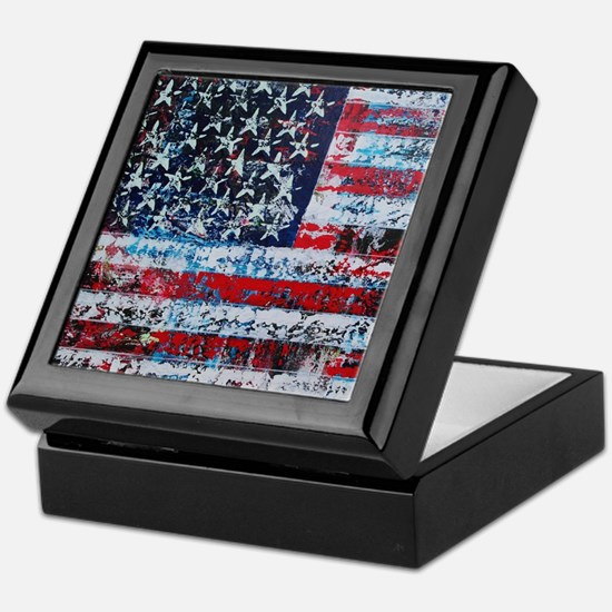 In God We Trust Horizontal Keepsake Box