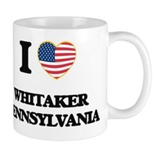 I love Whitaker Pennsylvania Mug