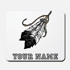 Native American Feathers (Custom) Mousepad