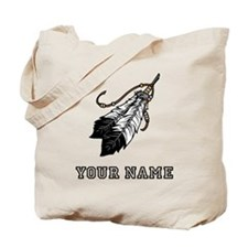 Native American Feathers (Custom) Tote Bag